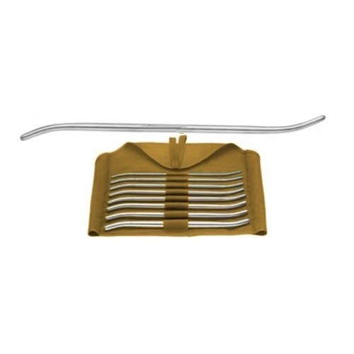 "PRATT UTERINE DILATOR, DOUBLE-ENDED, 11 1/2"" (29.2 CM), SET OF 8, SIZES 13/15 FR. TO 41/43 FR."