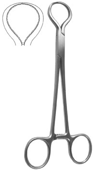 Lewin Bone Forceps 7""